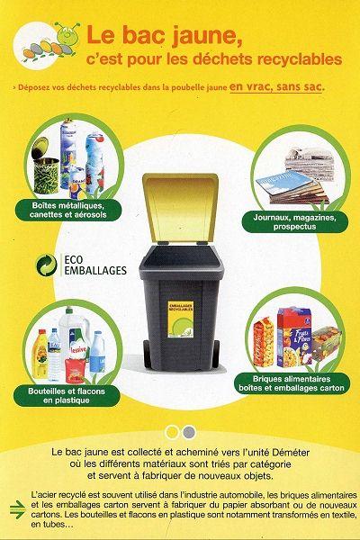Bevorzugt poubelle – Les Terrasses de l'Ecu RG71